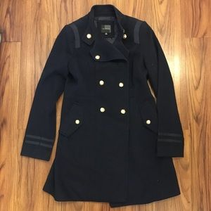 THE LIMITED |  navy blue coat